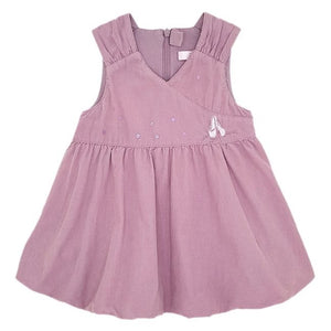 REPETTO Robe boule bébé fille rose en velours 6 mois