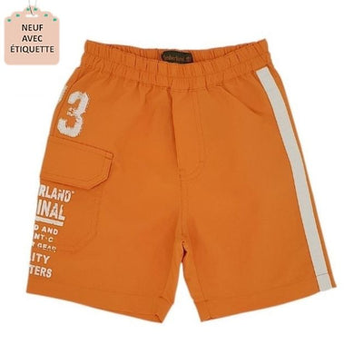 Short de bain bébé 12 mois TIMBERLAND orange
