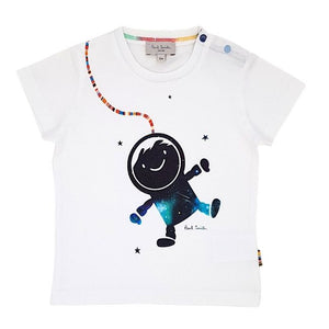 PAUL SMITH JUNIOR Tee-shirt bébé garçon blanc 6 mois