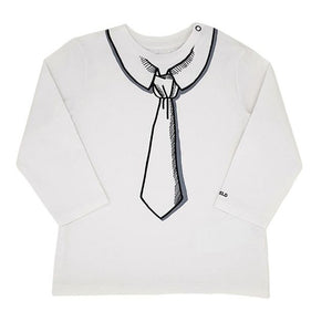 KARL LAGERFELD KIDS Tee-shirt bébé mixte motif cravate 18 mois