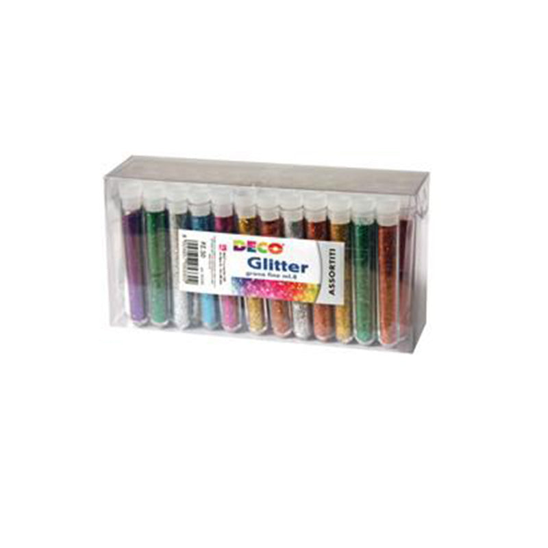 Glitter colorati 8 ml