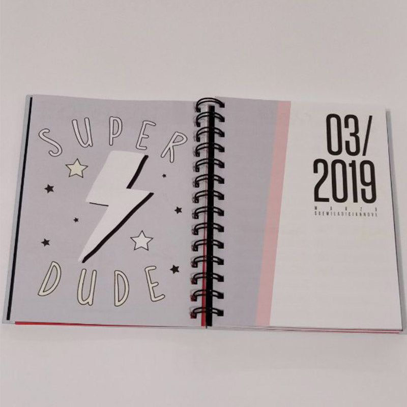 Agenda Colourbook 2019 Pretty Girl