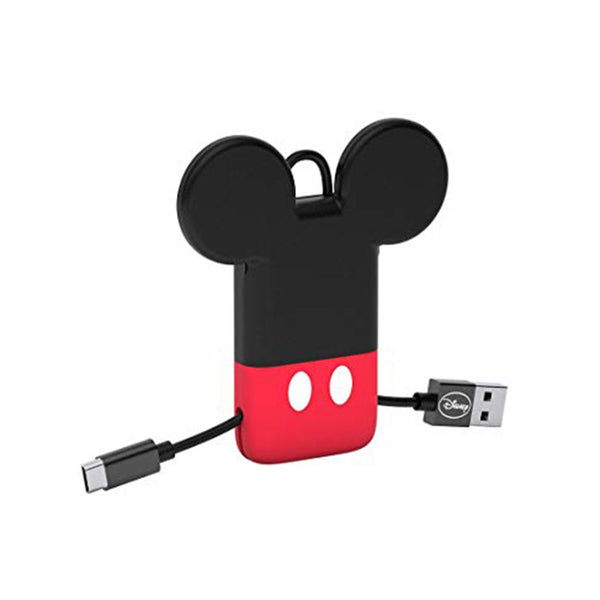 Mini Cavo USB portachiavi con connettore Lightning Mickey Mouse