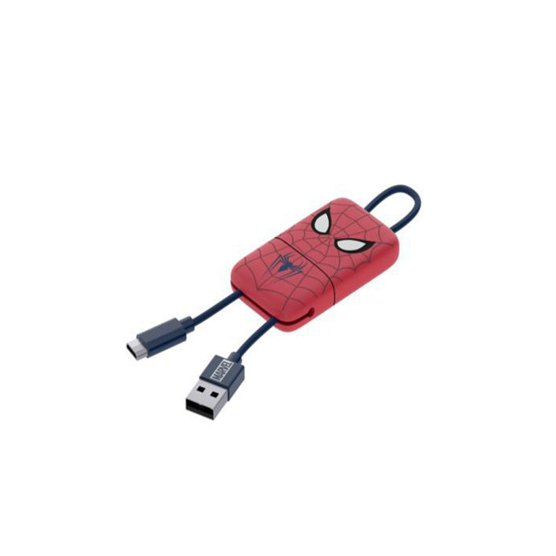 Mini Cavo USB portachiavi con connettore Lightning Spider-Man