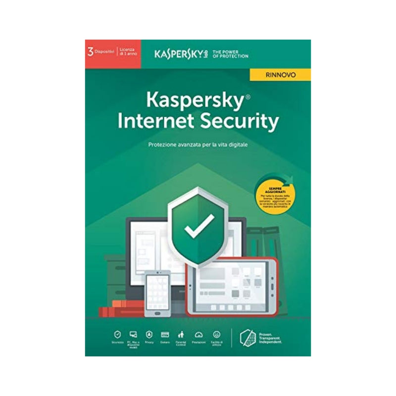 Protezione digitale Kaspersky Internet Security