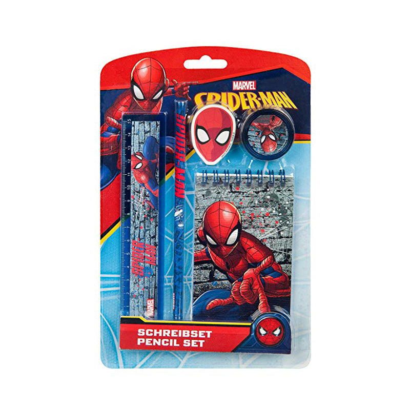 Set Cancelleria Spider-Man