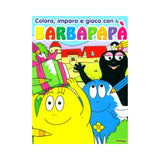 album da colorare barbapapà