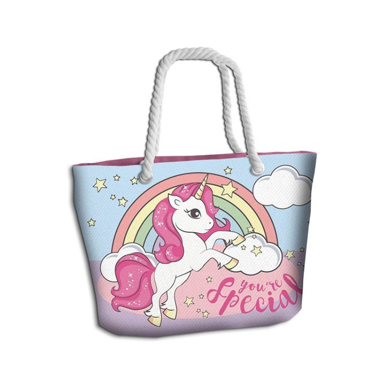 borsa mare unicorno you're special