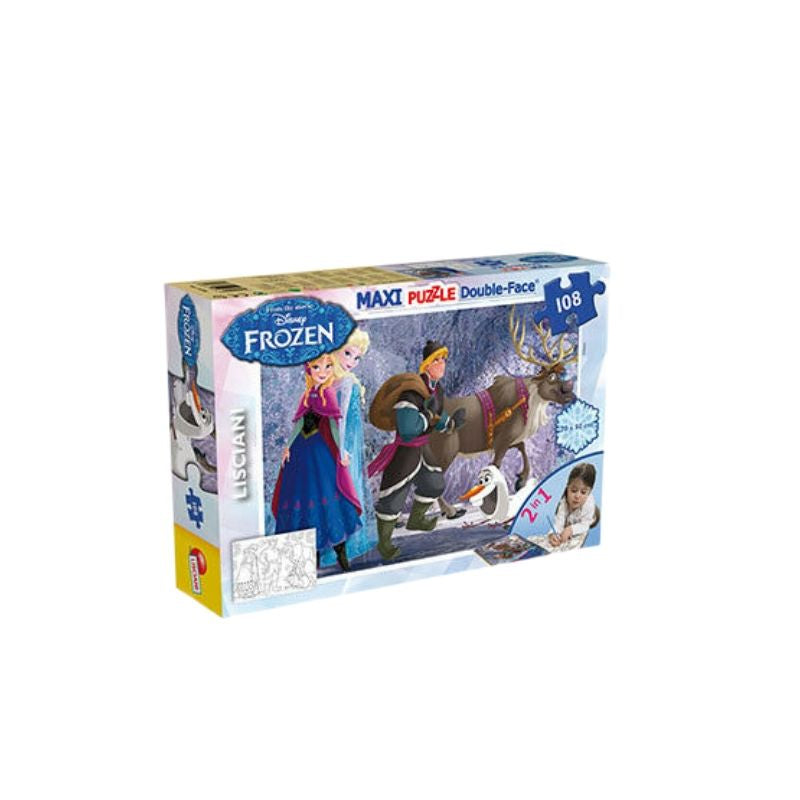 frozen puzzle double face