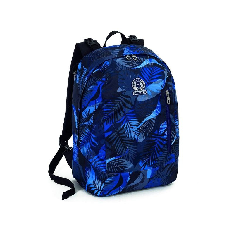 zaino invicta reversibile exotic blu