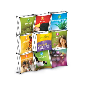 Large 9-Panel Pop-up Display