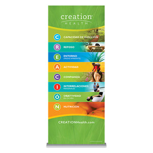 Pull-up Banner - Spanish (Green)