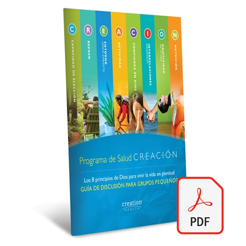 Small Group Discussion Guide (Spanish) - Digital Download