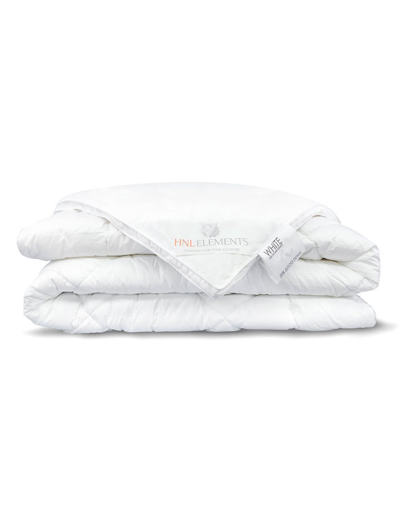 "Dekbed ""All year"" White- 20% Witte ganzendons"