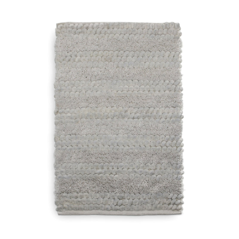 Badmat Roberto light grey - 60% Katoen 40% Polyester