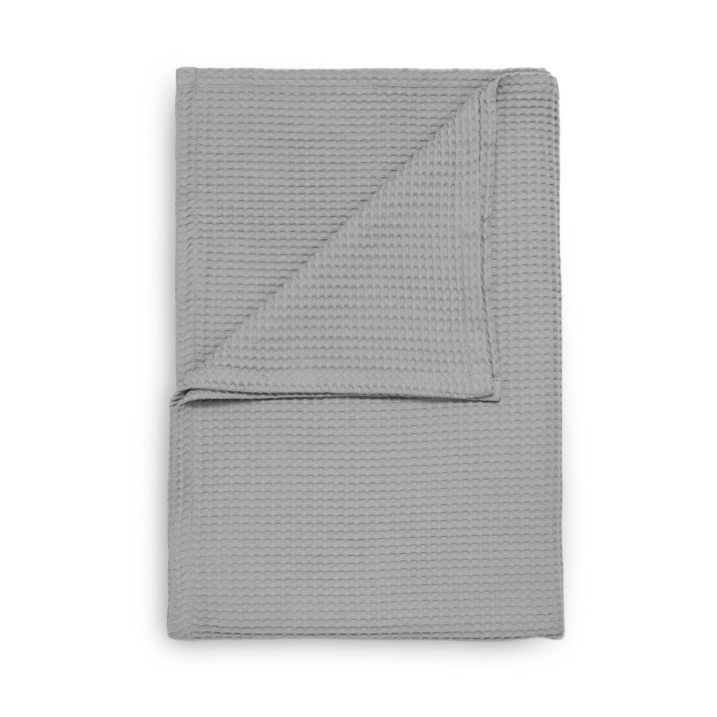 Wafel plaid glacier grey - 100% Katoen