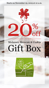 20% off Molasses, Brownie & Cookie Gift Box - Dancing Deer Baking Co.