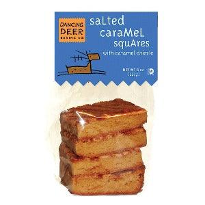 Caramel Sea Salt Square (Case) - Dancing Deer Baking Company