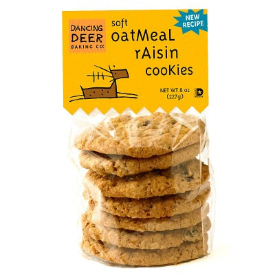 Oatmeal Raisin Cookie (Case) - Dancing Deer Baking Company