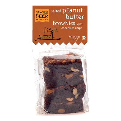Peanut Butter Brownie (Case) - Dancing Deer Baking Company