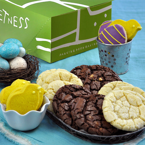 Signature Easter Cookie Gift - Dancing Deer Baking Company
