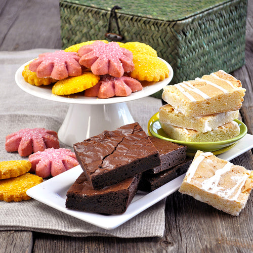 Spring Basket Gift Assortment - Dancing Deer Baking Company