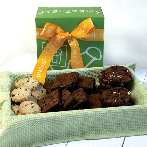 Thank You Chocolate Bliss Gift Box - Dancing Deer Baking Company