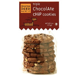 Triple Chocolate Chip Cookie (Case) - Dancing Deer Baking Company