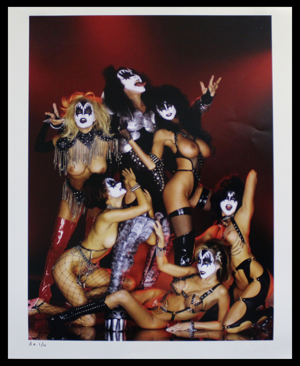 "Arny Freytag - ""Girls of Kiss"" - Gene Simmons"