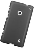 DARK GRAY PROTEX RUBBERIZED HARD SHELL CASE COVER FOR NOKIA LUMIA 520 PHONE