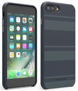 PureGear Midnight Blue SOFT-TEK Case Skin Cover for iPhone 8 Plus/7 Plus/6 Plus