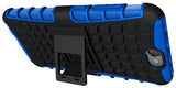 NEW BLUE GRENADE GRIP RUGGED TPU SKIN HARD CASE COVER STAND FOR HTC ONE A9 PHONE