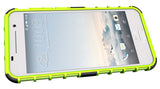 LIME GREEN GRENADE GRIP RUGGED TPU SKIN HARD CASE COVER STAND FOR HTC ONE A9