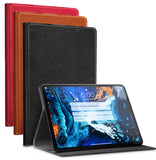 Leather Case Cover Stand with Card Slot for Apple iPad 9.7 2017/2018, Air, Air-2
