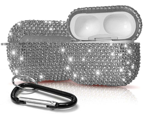 Crystal Diamond Rhinestone Bling Hard Case Cover for Apple Airpods Pro (2019)