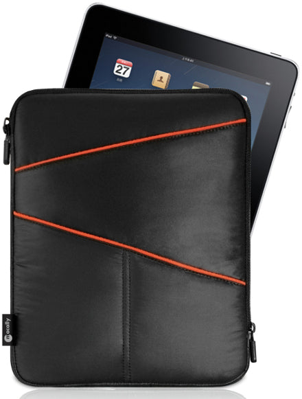 MACALLY AIRPOUCH PADDED SLEEVE CASE POUCH FOR APPLE iPAD 9.7 2017/2018, AIR 2