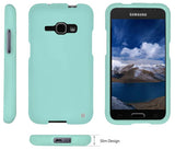 MINT RUBBERIZED HARD PROTECTOR CASE COVER FOR SAMSUNG GALAXY J1 (2016) SM-J120A