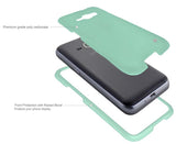 MINT RUBBERIZED HARD SHELL PROTECTOR CASE COVER FOR SAMSUNG GALAXY EXPRESS 3
