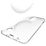 CLEAR TRANSPARENT TPU FLEX SKIN CASE COVER for LG Zone 4, Risio 2/3, Rebel 2/3