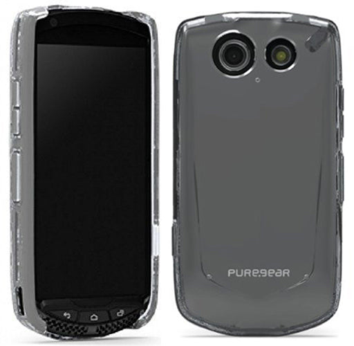 PUREGEAR SLIM SHELL CLEAR CASE COVER FOR VERIZON KYOCERA BRIGADIER E6782