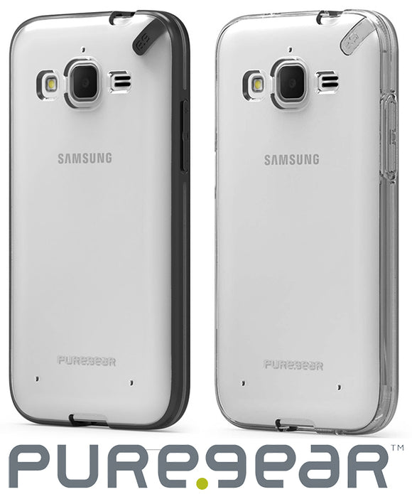 PUREGEAR SLIM SHELL CASE + SCREEN PROTECTOR FOR SAMSUNG GALAXY CORE PRIME