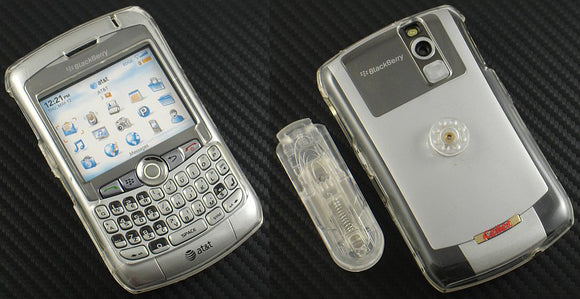 NEW CLEAR PROGUARD HARD CASE COVER BELT CLIP FOR BLACKBERRY CURVE 8320 8310 8300