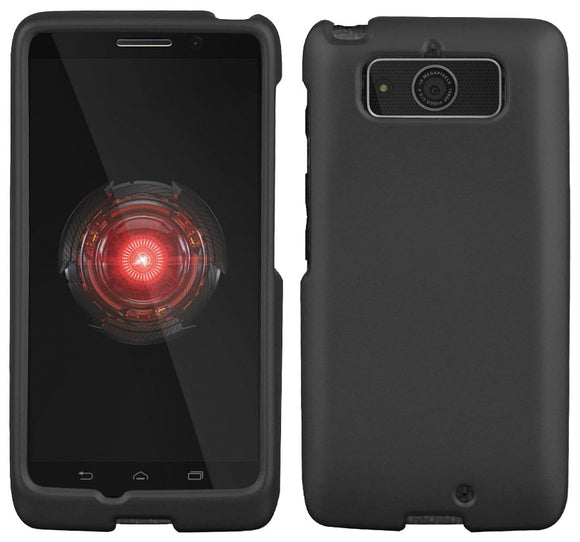 GRAY RUBBERIZED HARD SHELL CASE PROTEX COVER FOR MOTOROLA DROID MINI XT1030