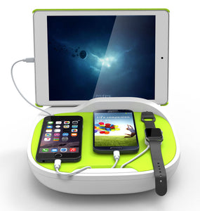 KiDiGi HANK FAMILY CHARGING STATION UNIVERSAL CHARGER FOR CELL PHONE AND TABLET