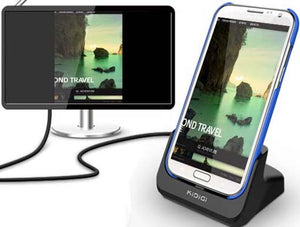 KiDiGi HDMI COVER-MATE CHARGER CRADLE AC USB WALL DOCK FOR SAMSUNG GALAXY NOTE 2