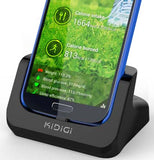 KiDiGi HDMI COVERMATE CRADLE CHARGER AC USB WALL DOCK FOR SAMSUNG GALAXY S4 S IV
