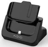 KiDiGi BLACK BATTERY CHARGER CRADLE AC USB WALL DOCK FOR SAMSUNG GALAXY-S4 IV