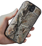 Camo Leaf Tree Kickstand Case + Belt Clip Holster for Kyocera DuraForce Pro
