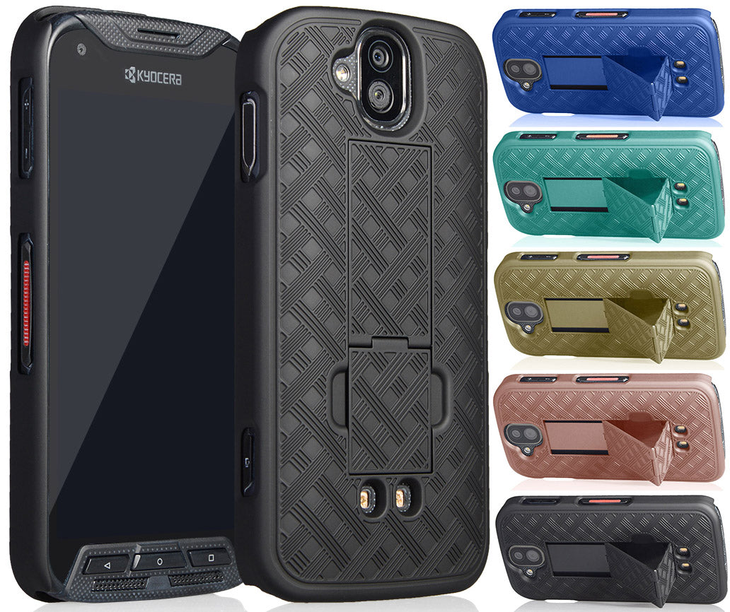 Slim Kickstand Case Hard Cover for Kyocera Duraforce Pro  E6810/E6820/E6830/E6833