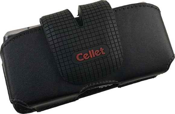 CELLET BLACK POUCH CASE WITH BELT CLIP FOR LG RUMOR LX260 PEARL 8100 8120 8130